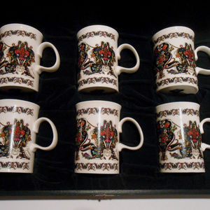 Gucci vintage coffee cup gift set 6 cups
